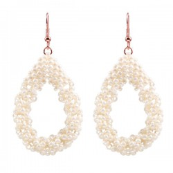 Drop Earrings Large 'Ivory'