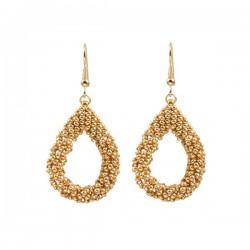 Drop Earrings Small 'Gold'