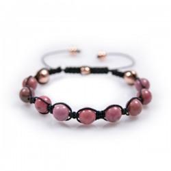 Bracelet Rhodonite Medium