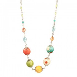 Boho Chique Necklace Spring Festival