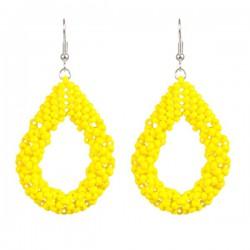 Drop Earrings Large 'Yellow'