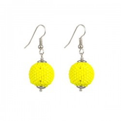 Earrings 'Bright Yellow'