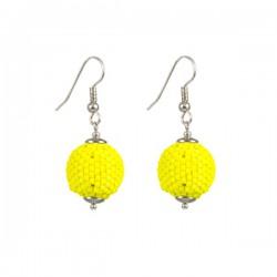 Oorhangers 'Bright Yellow'