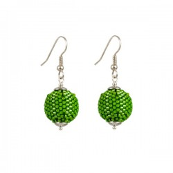 Earrings 'Fresh Green'