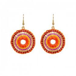Earrings Boho 'Orange'
