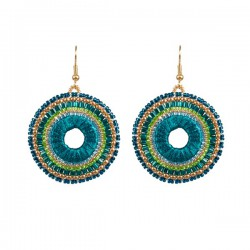 Oorhangers Boho 'Emerald City'