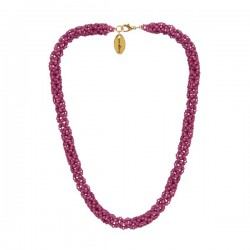 Collier Large 'Orchid'