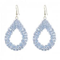 Drop Earrings Large 'Light Sapphire'