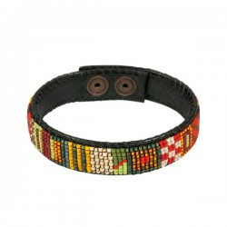 Bracelet Leather 'Fall'
